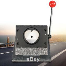USA 57x52mm Badge Button Maker Punch Press Machine Supplies Heart-Shaped