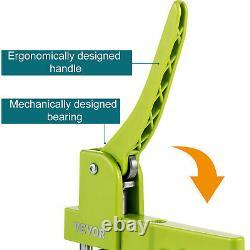 VEVOR Button Maker 2.28 1000PCS Badge Machine Installation-Free + Circle Cutter