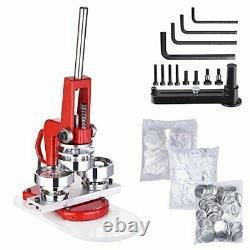 Yescom 2 1/4 inch 58mm Button Badge Maker Punch Press Machine with 1000 Pcs P