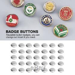 1000 / 2000pcs Maker Machine Diy Pin Bouton Badge Couverture Pièces 1 / 1,25 / 2,28