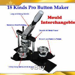 18 Machine À Fabriquer Des Boutons Avec Insigne Ovale Rectangulaire Rectangulaire En Métal