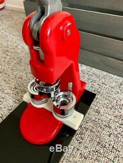 1.0 (25mm) Bouton Maker Badge Poinçon Machine De Presse