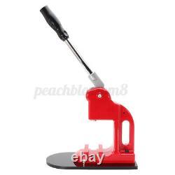1'' 0,98'' Bouton Maker Machine Badge Punch Press Circle Mould Cutter Tool Set