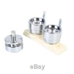 1 / 1,25 / 2,28 Bouton Maker Badge Punch Machine De Presse + 1000 Boutons Pièces