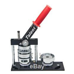 1-1 / 4 (32mm) Bouton Rond Manuel Maker Badge De Clichage Type Swing Machine Moule