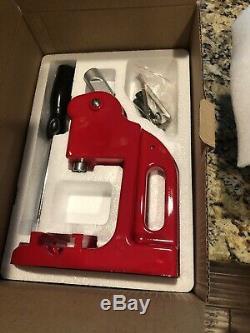 1 1/4 Bouton 32mm Maker Badge Punch Machine De Presse Avec 1000 Pièces Cutter Cercle