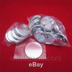 1-1 / 4 Pouces Tecre Badge Bouton Maker Machine De Presse + Graphique + 2000 Boutons Punch