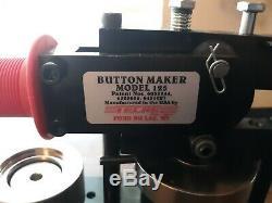 1,25 1 1/4 Tecre Bouton Keychain Badge Maker Modèle 125 Machine Seulement