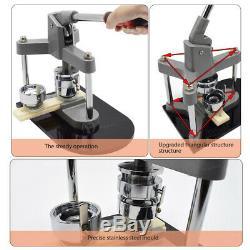1,25 '' 32mm Bouton Badge Maker Machine Poinçonneuse & Cercle Cutter 300pcs Pièces