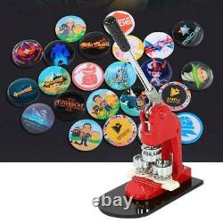 1,25 Bouton Maker Poinçonneuse Machine 1000 Pin Pièces Badge + Cercle Cutter USA