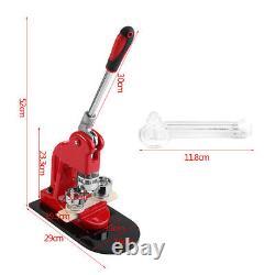 1.25 Button Maker Machine Badge Punch Press 1000 Parts Circle Cutter Kits D'outils