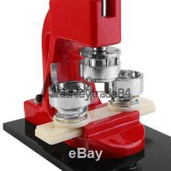 1 (25 Mm) Badge Ronde Maker Machine Pour La Fabrication De Boutons De Bricolage Badge