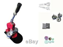 1,25 Pouces Pro Button Badge Maker Machine Bouton Bricolage Badge Presse + 1000pc Fournitures