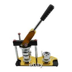 1.5 Fabricant De Bouton De Machine D'insigne De Bouton Avec Le Coupeur De Cercle 100 Bouton