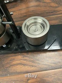 1. 5 Pouces Tecre Pin Bouton Badge Maker + Machine Graphique + Boutons Poinçon Pièces