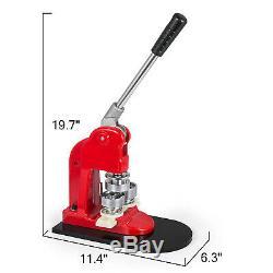 1,73 Machine De Presse De Poinçon De Fabricant De Bouton De 44mm Meurent Pièces D'insigne De Pin Du Moule 1000