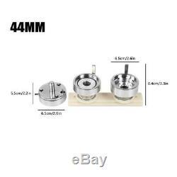 1,75 Bouton Maker Machine 44mm Avec 500 Boutons Badge Cercle Poinçonneuse Pin Us