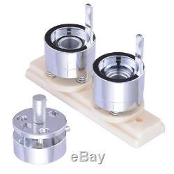 1 In Bouton Pin Maker Machine Badge Avec 1000 Parties Et Le Cercle Cutter Pinback