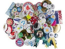 1 Kit! Badge Button Maker Machine + 1 000 Broches En Métal Retour Fournitures Vente Chaude