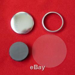 1 Pouce Tecre Pin Bouton Badge Maker + Machine + Graphique Punch 3000 Boutons Magnétiques
