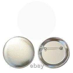 2000 Pcs. 2-1 / 4 Pouces Pin Set Badges Button Tecre Cabuttons Makers Machines