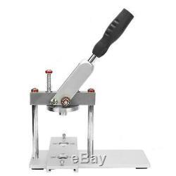 25/32/37 / 44/50 / 56/58 / 75mm Badge Presse Faire Bouton Machine Pin Maker Bricolage