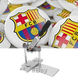 25/32/37 / 44/50 / 56/58 / 75mm Badge Presse Faire Bouton Machine Pin Maker Bricolage Artisanat