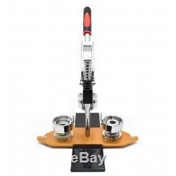 25 / 32mm Badge Presse Faire Bouton Machine Pin Maker Bricolage Craft Cadeau Cutter Cercle
