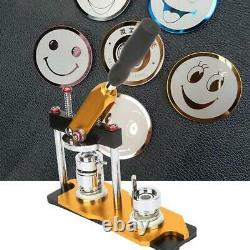 25mm Manuel Making Badge Button Machine Rotate Button Part Maker With100 Buttons