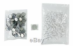 2-1 / 4 58mm Bouton Badge Maker Machine + Pièces Bouton 100 Sets + Die Moule Us