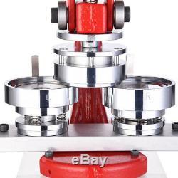 2 1/4 58mm Bouton Maker Badge Punch Machine De Presse Avec 1000 Pièces Cutter Cercle