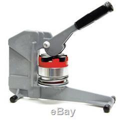2 1/4 Goupilles Terminer Button Maker Badge Maker Machine + Beaucoup D'extras