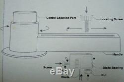 2-1 / 4inch 58mm Badge Badge Machine Maker Making Kit +1000 Fournitures De Bouton