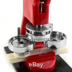 2,28 58mm Bouton Maker Machine Badge Poinçonneuse 100 Pièces Outil Cercle Cutter