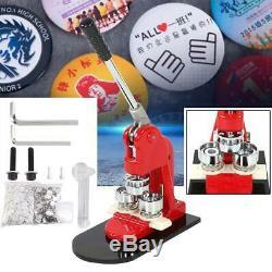 2.28 Bouton Badge Maker Punch Machine De Presse 1000 Pcs Pièces & Cercle Cutter Us