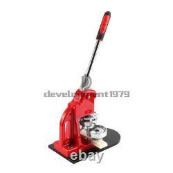 2.28 Bouton Badge Maker Punch Press Machine 100 Pièces Pcs Et Circle Cutter