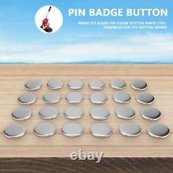2.28 Button Badge Maker Punch Press Machine 1000 Pièces Pcs Pour Diy Badge Maker