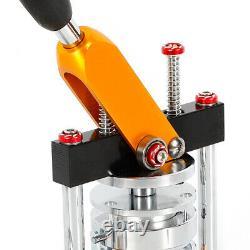 2.28 Manuel Button Maker Punch Press Machine Die Mould 100 Sets Badge Parts Us