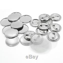 300 Jeux Spte Bouton Métal Badge Fournitures D'outils Pour Crafting Maker Machine Bouton