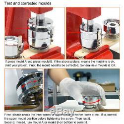 300pcs Pin Bouton Pièces Fournitures / Ronde Moule De Moule Pour Die Maker Machine Badge