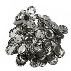 300sets Metal Bouton Badge Pièces Fournitures Pour La Machine À Broche Ronde 44-75mm