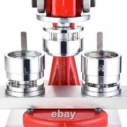 32mm Badge Maker Machine De Fabrication De Bouton D'épingle Presse Cutter 1000 Circle Bouton Maker