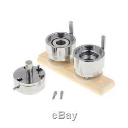 32mm Ronde Badges Meurent Moule De Moule Pour Badge Appuyez Sur Le Bouton Pin Maker Machine