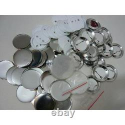 3 / 75mm Pin Badge Button Fournitures Pour Badge Maker Machine