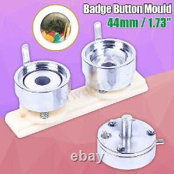 44mm 1.73 Badge Pin Making Mould Button Maker Punch Press Machine Metal