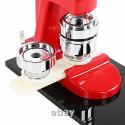 44mm 1.7 Button Maker Badge Press Machine Set + 500pcs Boutons Coupeur Circulaire