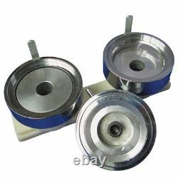 44mm Bouton Machine Maker Badge Press + 1000 Bouton Supplies + Circle Cutter