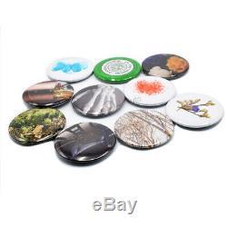 500pcs Fournitures Blank Badge Pièces Bouton Pin Matériaux Maker Pro Machine Bricolage