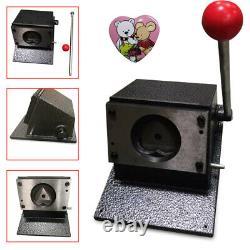 52x57mm (2-1/4) Punch Manuel Die Cutter Graphic Die Cutter Badge / Button Maker