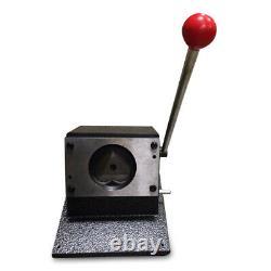 57x52mm Manuel Poinçonneuse Cutter Graphique Die Cutter Badge / Bouton Maker Coeur